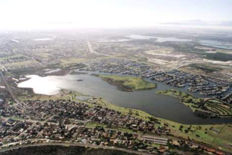 Zandvlei, Princess Vlei, Rondevlei, Zeekoevlei - Photo by Gordon Richardson