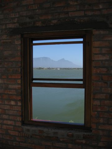 New False Bay Ecology Park HQ - looking towards Table mountain - I wouldnt mind this office