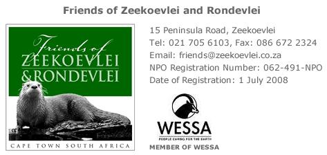 Date Change 2014 Agm For Friends Of Zeekoevlei And